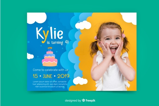 children-birthday-invitation-template-with-image_23-2148305197