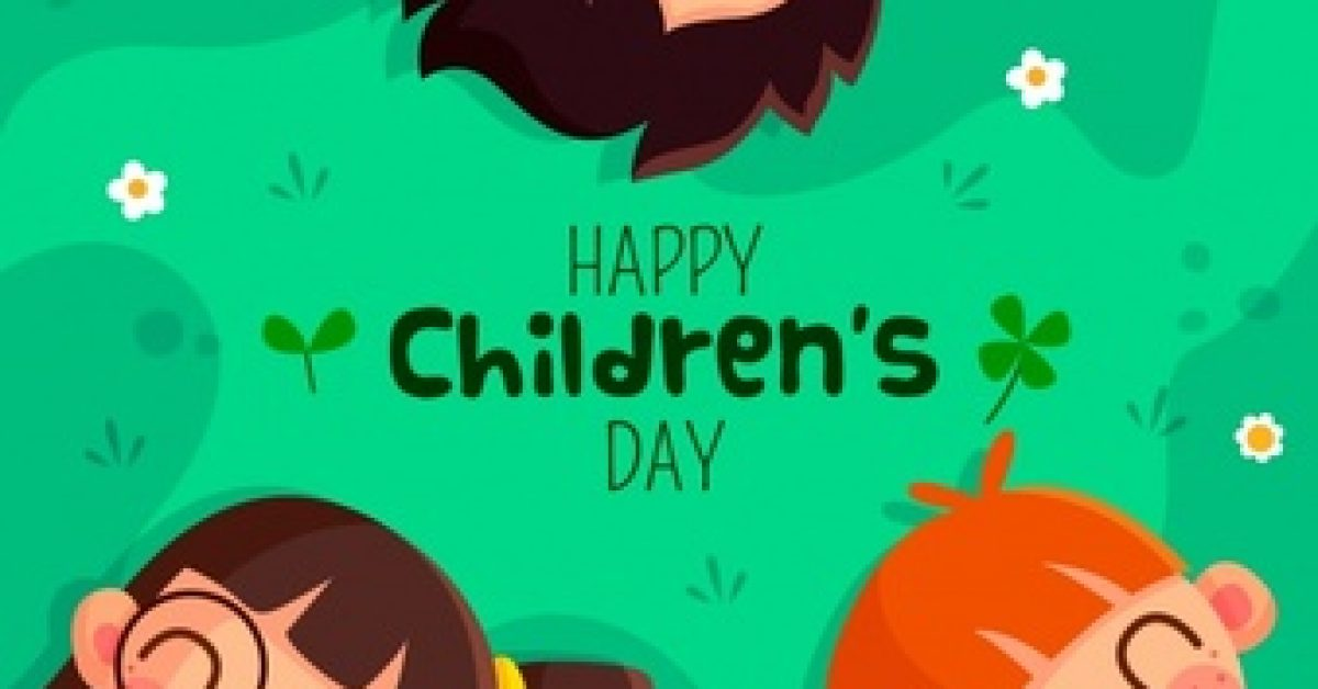 lovely-children-s-day-composition-with-flat-design_23-2147962412